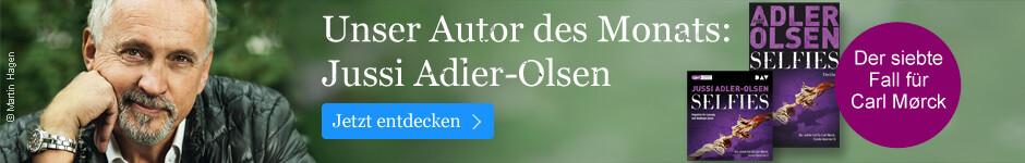 Unser Autor des Monats: Jussi Adler-Olsen