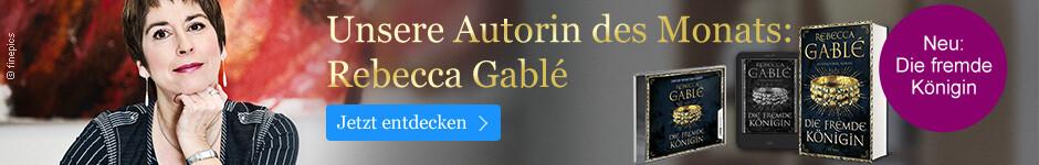 Rebecca Gablé: Unsere Autorin des Monats