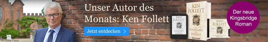 Autor des Monats September: Ken Follett