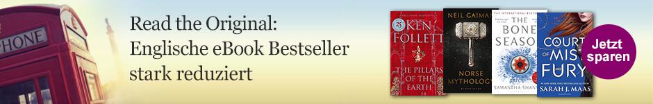 Englische eBook Bestseller stark reduziert