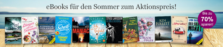 eBooks für den Sommer zum Aktionspreis
