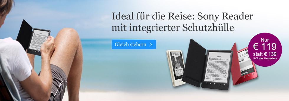 Sony Reader Sony PRS T3 für 119 EUR  sichern
