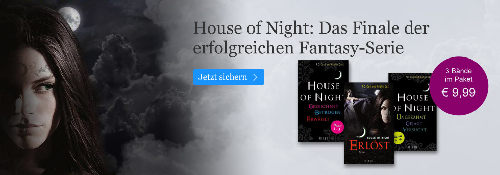 House of Night  mit Aktionspreis sichern