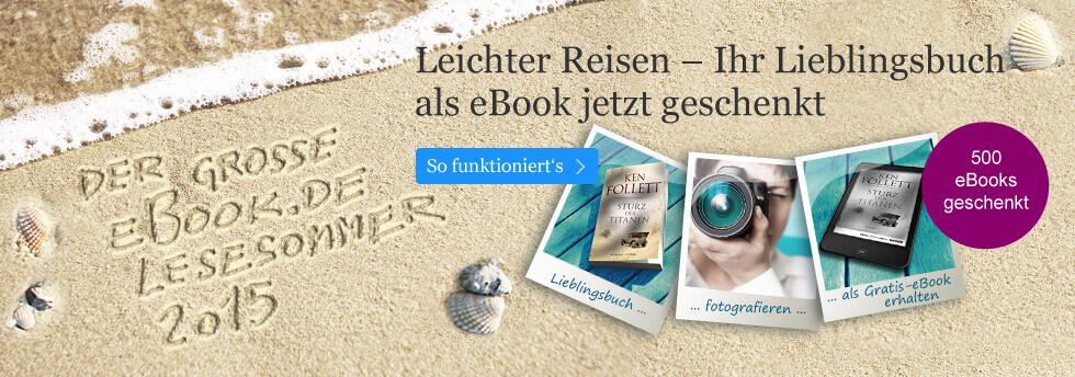 Der große eBook.de Lesesommer: Leichter reisen mit eBooks
