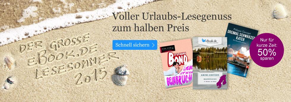 Der eBook.de Lesesommer 2015 - Lesegenuss für den Sommer.