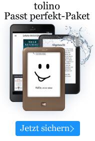 Die tolinos bei eBook.de im Passt perfekt-Paket sichern