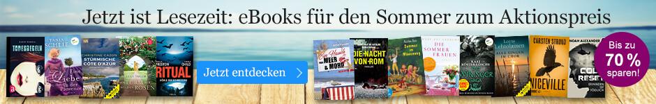 eBook Schnäppchen für den Sommer bei eBook.de