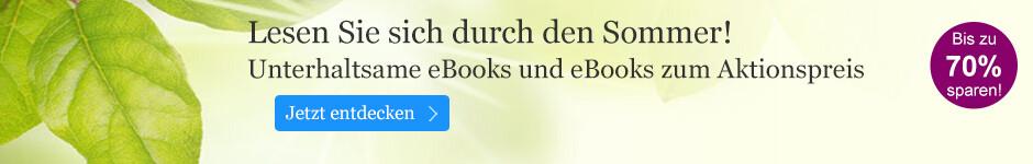 eBook Sommer: Unterhaltsame eBooks und eBooks zum Aktionspreis