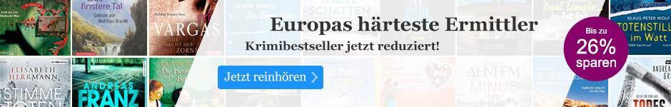 Europas härteste Ermittler - Krimibestseller jetzt reduziert!