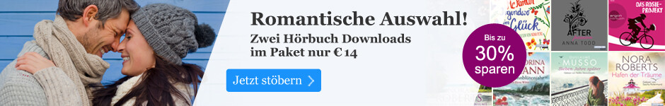 2 Hörbuch Downloads im Paket: Romantik zu Valentinstag