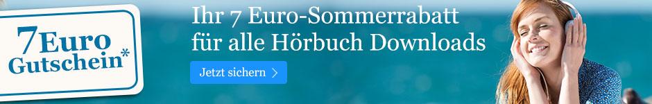 Ihr 7 EUR-Gutschein für Hörbuch Downloads bei eBook.de