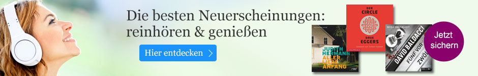 Die besten Neuerscheinungen bei eBook.de: reinhören & genießen!