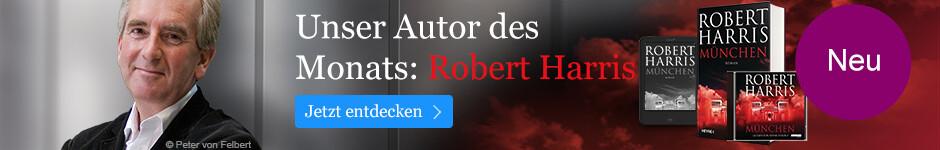 Unser Autor des Monats: Robert Harris