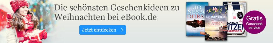 Die schönsten Ideen zu Weihnachten bei eBook.de