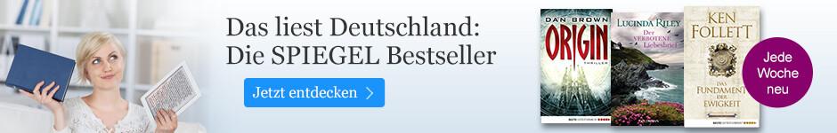 Die Spiegel Bestseller bei eBook.de