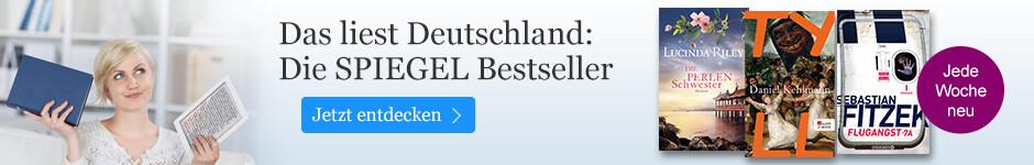 Die SPIEGEL Bestseller bei eBook.de entdecken
