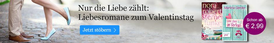 Liebesromane zum Valentinstag bei eBook.de