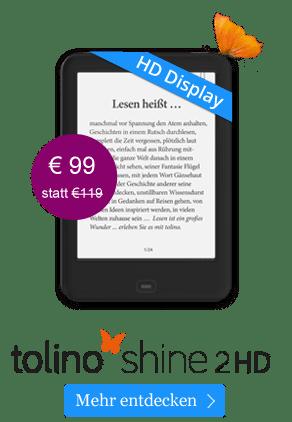 tolino shine 2 HD für 99 Euro