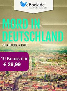 Mord in Deutschland: Exklusive Krimi Pakete bei eBook.de