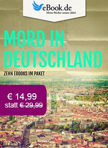 Mord in Deutschland: 10 Krimis im Paket reduziert