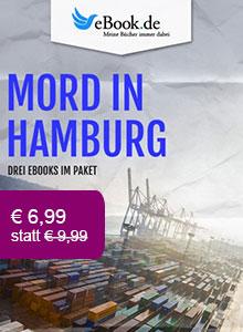Drei Krimis aus Hamburg im Paket nur € 6,99.
