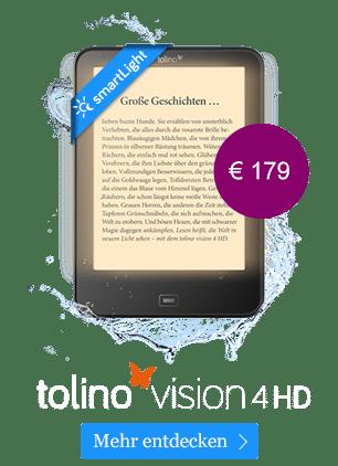 eReader tolino vision 4 HD
