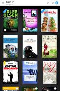 eDie eBook.de Lese-App für Android - Bibliotheksansicht