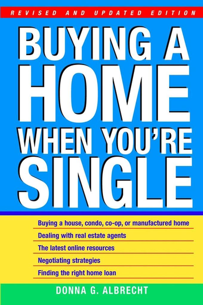 Buying a Home When You're Single als Taschenbuch