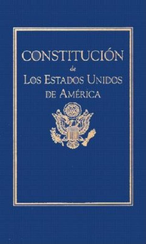 Constitucion de Los Estados Unidos als Buch