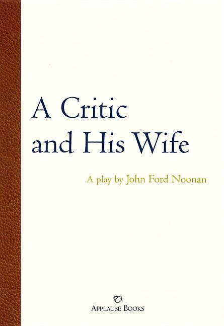 A Critic and His Wife als Taschenbuch