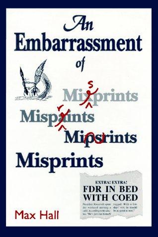 An Embarrassment of Misprints als Buch