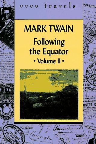 Following the Equator Volume 11 als Taschenbuch