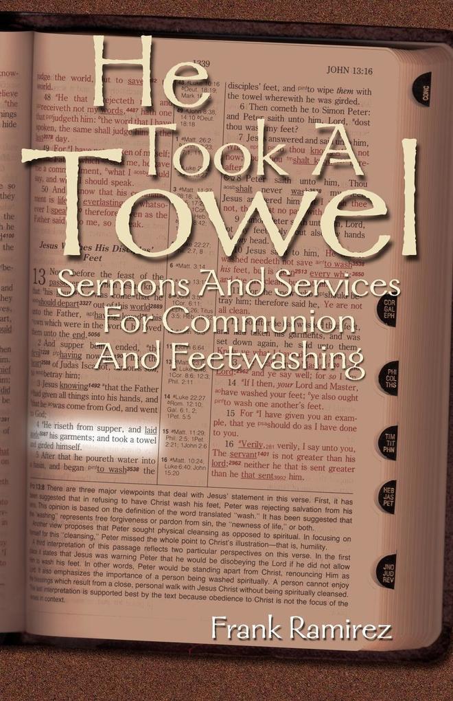 He Took a Towel als Taschenbuch