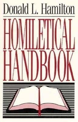 Homiletical Handbook als Taschenbuch