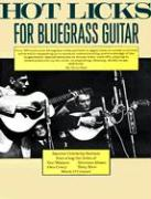 Hot Licks for Bluegrass Guitar als Taschenbuch