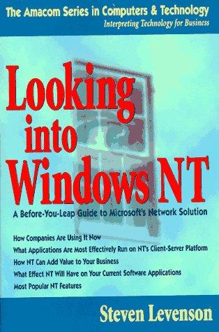 Looking Into Windows NT als Taschenbuch
