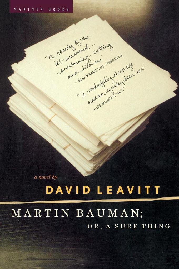 Martin Bauman; Or, a Sure Thing als Taschenbuch
