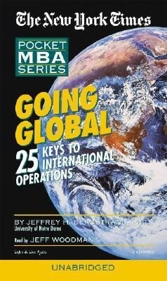Going Global: 25 Keys to International Operations als Hörbuch