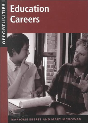 Opportunities in Education Careers als Buch