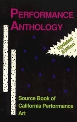 Performance Anthology als Taschenbuch
