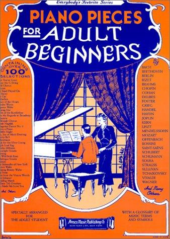 Piano Pieces for Adult Beginners als Taschenbuch