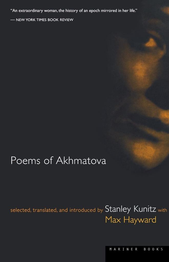 Poems of Akhmatova als Taschenbuch