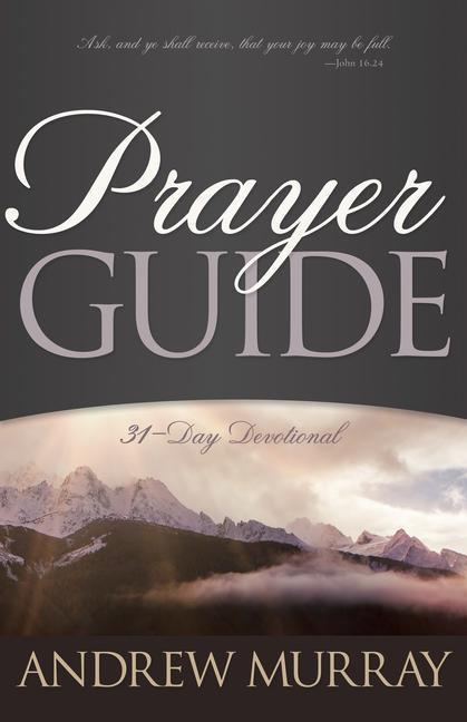Prayer Guide als Taschenbuch