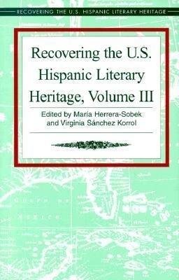 Recovering the U.S. Hispanic Literary Heritage als Buch
