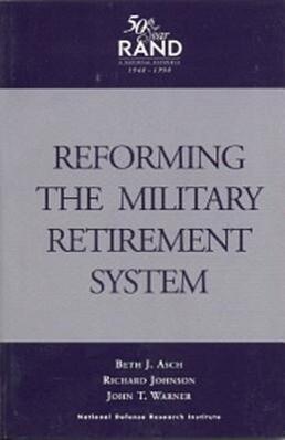 Reforming the Military Retirement System als Taschenbuch
