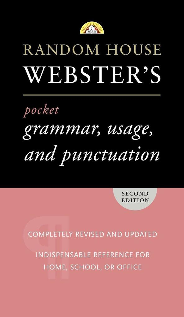 Random House Webster's Pocket Grammar, Usage, and Punctuation: Second Edition als Taschenbuch