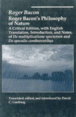Roger Bacons Philosophy of Nature als Buch