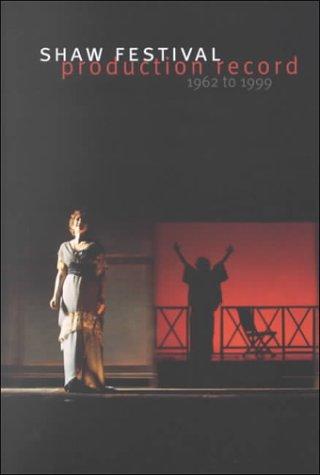 Shaw Festival, 1962-98 als Taschenbuch