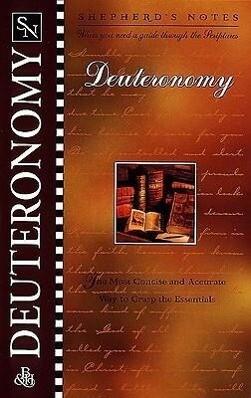 Shepherd's Notes: Deuteronomy als Taschenbuch