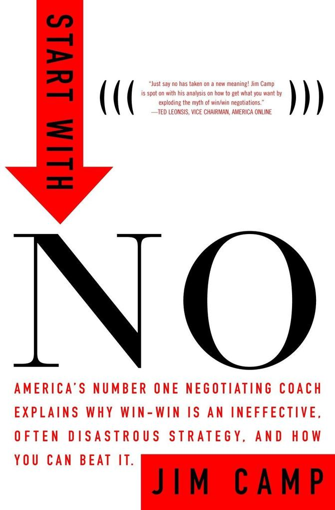 Start with No: The Negotiating Tools That the Pros Don't Want You to Know als Buch